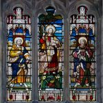 Stained Glass Window St Andrew's Church Slaidburn